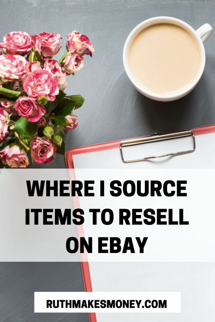 0b20288f81f Where I Source Items To Resell On eBay - Ruth Makes Money