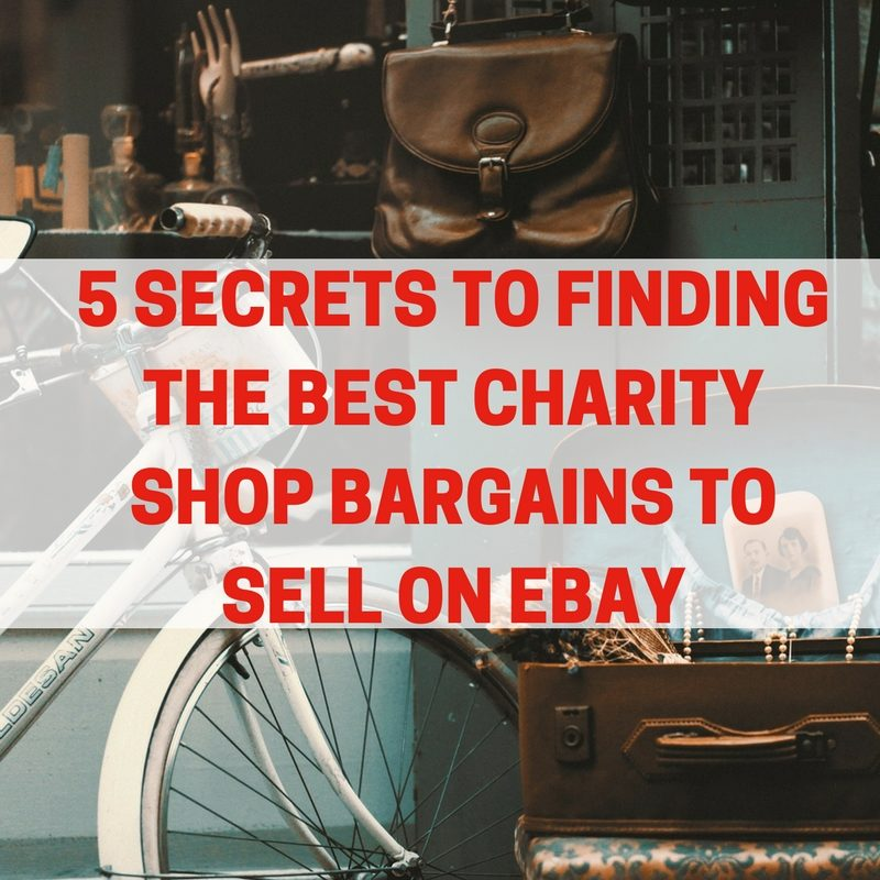 Charity Shop Bargains To Sell On Ebay - Ruth Makes Money
